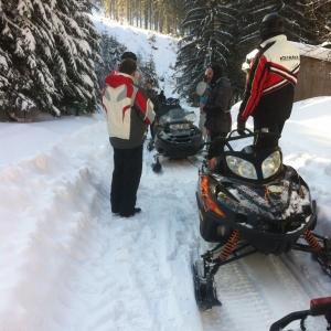 Tururi cu snowmobile
